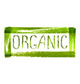 organic product logo design vector image