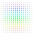 person icon halftone spectrum effect vector image vector image