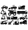 Set construction equipment collection of
