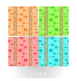 soft colorful seamless pattern vector image
