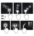 touch screen vector image
