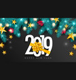 2019 happy new year universal background vector image vector image