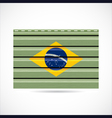 Brazil siding produce company icon vector image vector image
