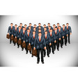 business clone vector image vector image