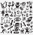 drugs doodles vector image vector image