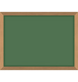 Green School Board Clean Blackboard Acces vector image
