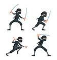ninja japanese secret assassin cartoon characters