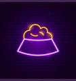 pet food neon sign vector image
