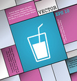 Soft drink icon sign Modern flat style for your vector image vector image