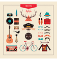 hipster stuff vector image