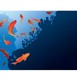 Antias fish vector image vector image