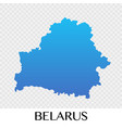 belarus map in europe continent design vector image vector image