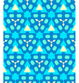 blue cyan yellow color abstract geometric seamless vector image