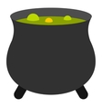 Boiler sorcerer icon flat style vector image vector image