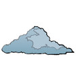 cute cloud forecast web weather white background vector image vector image