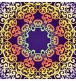 Delicate swirl pattern background Vintage vector image vector image