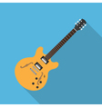 flat guitar 5 vector image vector image