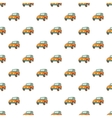 Jeep pattern cartoon style vector image vector image