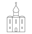 Orthodox church icon vector image
