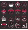 Set of Badges Logos and Sign Break Dance vector image vector image