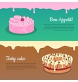 Bon Appetit and Tasty Cake Flat Banners
