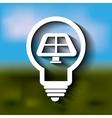 clean energy design vector image vector image