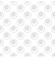 Eightball pattern seamless vector image vector image