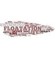 floodplain word cloud concept vector image vector image
