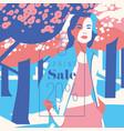 spring sale banner sale poster sale flyer 20 vector image vector image