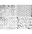 Overlay Brick wall texture for your deesign vector image