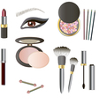 Beauty Products - Art vector image vector image