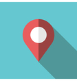 GPS location map pointer vector image vector image