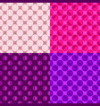 seamless geometrical circle pattern background vector image vector image
