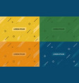 set of abstract backgrounds var 2 vector image vector image