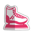 ice skate isolated icon vector image vector image