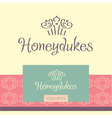 logo for confectionery making cupcakes vector image vector image