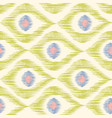 vintage texture in ikat pattern vector image vector image