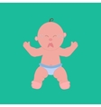 Crying baby vector image