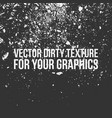 dirty texture for your design vector image vector image