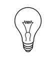 light lamp icon sign vector image vector image