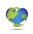 love the world vector image vector image