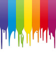 paint drips vector image