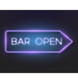 Realistic Neon Frame Icon vector image vector image