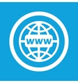 Global network sign icon vector image vector image