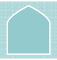Islamic card vector image vector image
