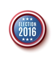 Presidential Election 2016 button vector image vector image