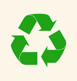 recycle reuse arrows - ecology icon collection vector image