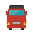transport service design vector image