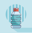 water bottle product vector image vector image