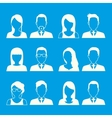 Young business people vector image
